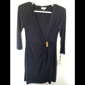 Calvin Klein Navy Dress Size 12 NWT